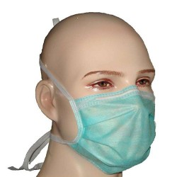 Disposable Bacteria Face Mask With Tie